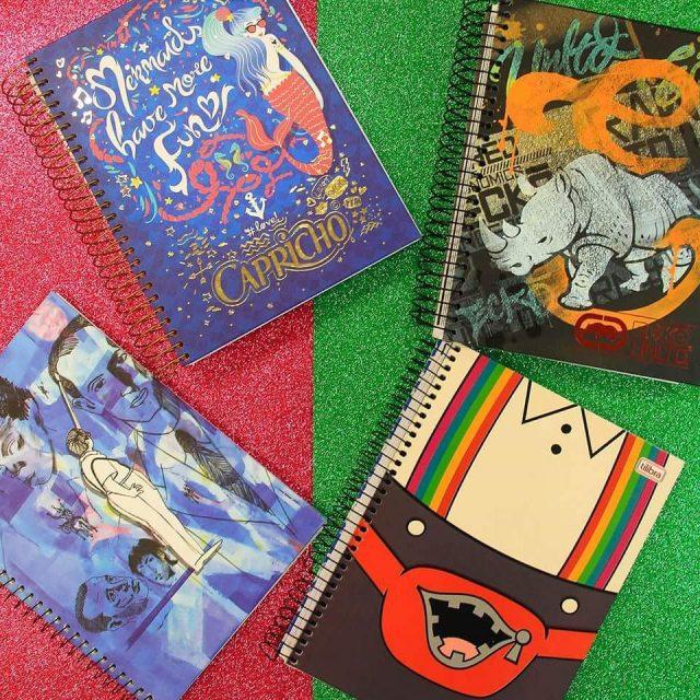 A escola  melhor com esses cadernos sim viciados emhellip