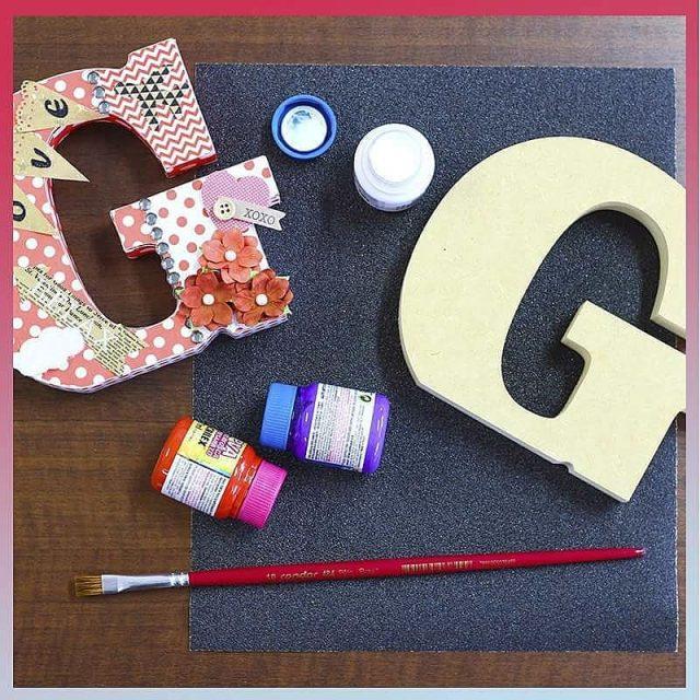 Letras em madeira pra voc pintar e decorar Claro quehellip